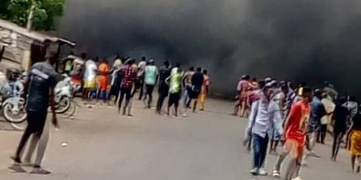 Many feared dead as petrol tanker explodes in Benue