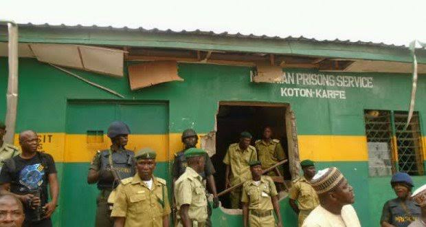 Nigerian Correctional Service reveals the cause of Bauchi prison riot