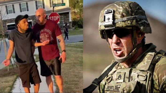 VIDEO: Soldier charged with third-degree assault and battery for harassing a black man