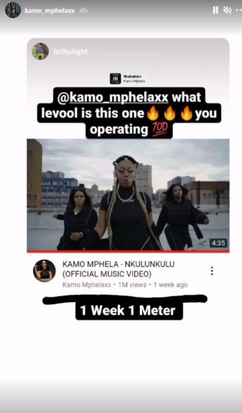 "Kamo Mphela's ""Nkulunkulu"" video hits 1 million views"