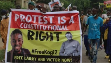 Nigerians storm Abuja streets, demand for release of anti-Buhari protesters