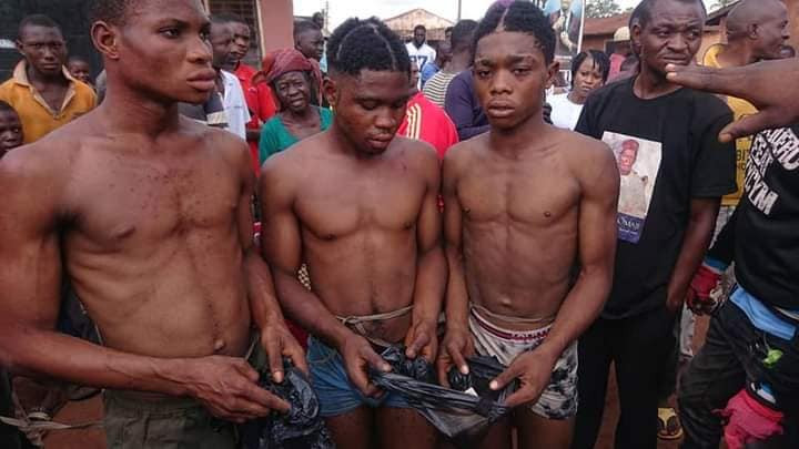 Three young men arrested for alleged homosexual act in Benue