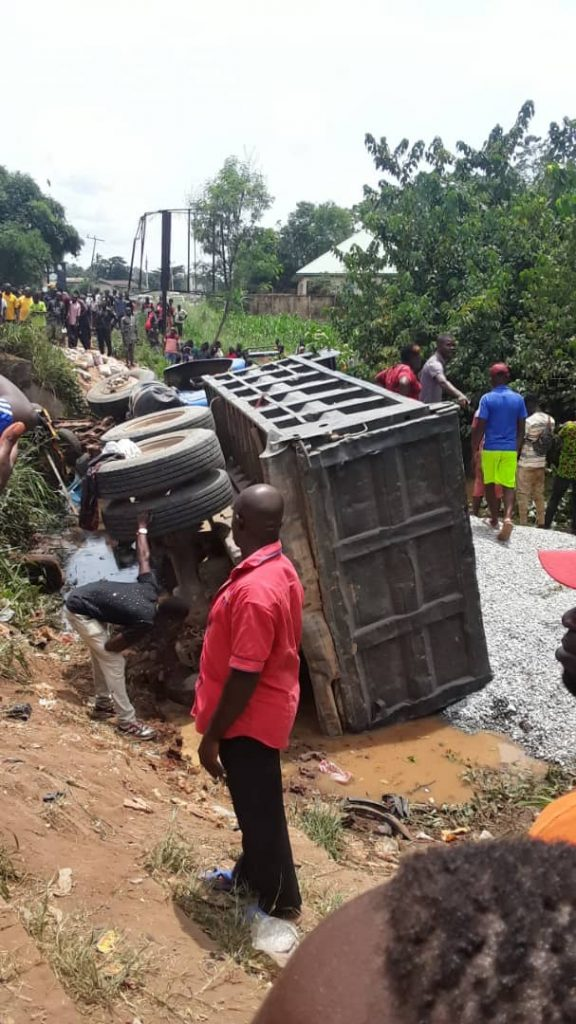 PHOTOS: Truck crushes 10 women to death at Imo market