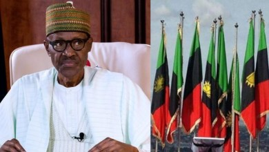 President Buhari told to hoist Biafran flag in Aso Rock