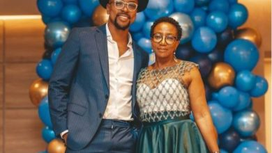 Maps Maponyane sends sweet birthday note to mom