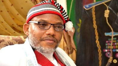 """We have a terror group in Lagos"" – Nnamdi Kanu"