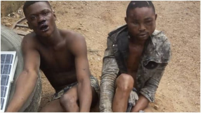 Two highway robbers arrested in Osun