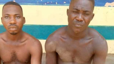 Two Owerri Prison inmates arrested with AK47 rifle