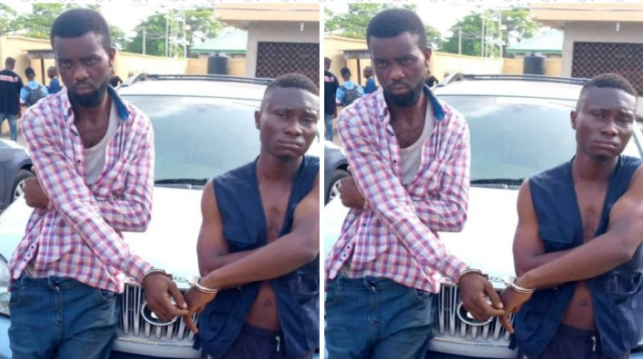 Police arrest suspected robbers in Lagos, recover stolen SUV