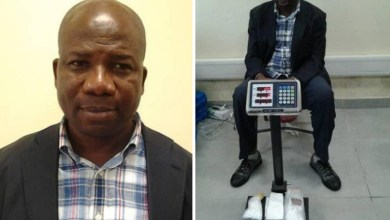 NDLEA arrest drug baron at Lagos airport