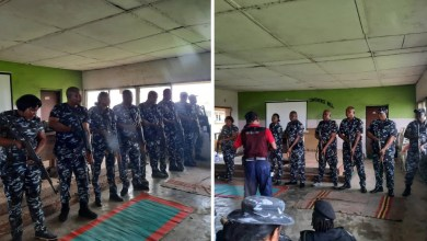 Lagos CP engages DPOs, policemen in weapon, combat training