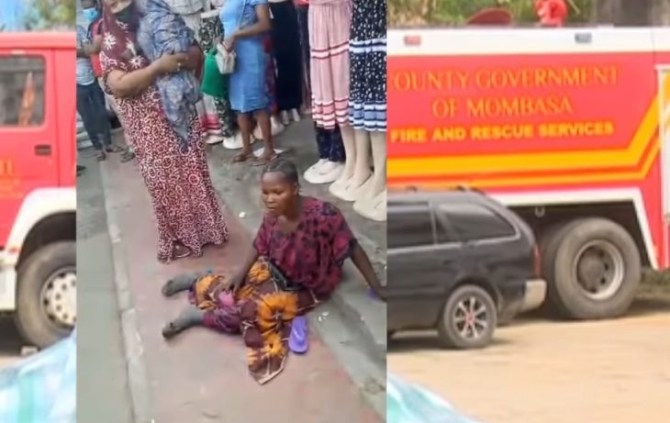 Lady arraigned in court after being caught begging while pretending to be a disabled mother