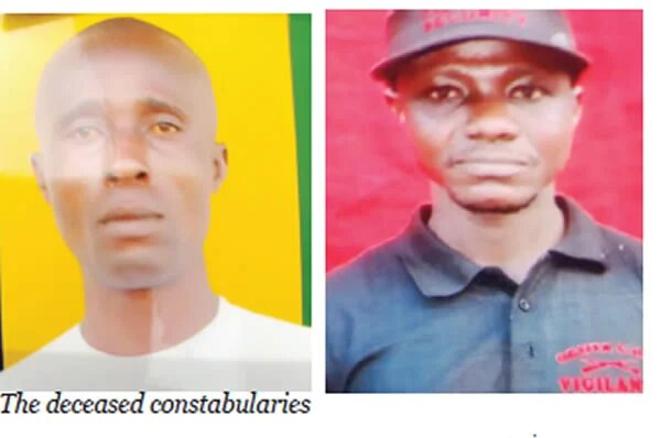 Gunmen kill two family members who were police officers in Imo