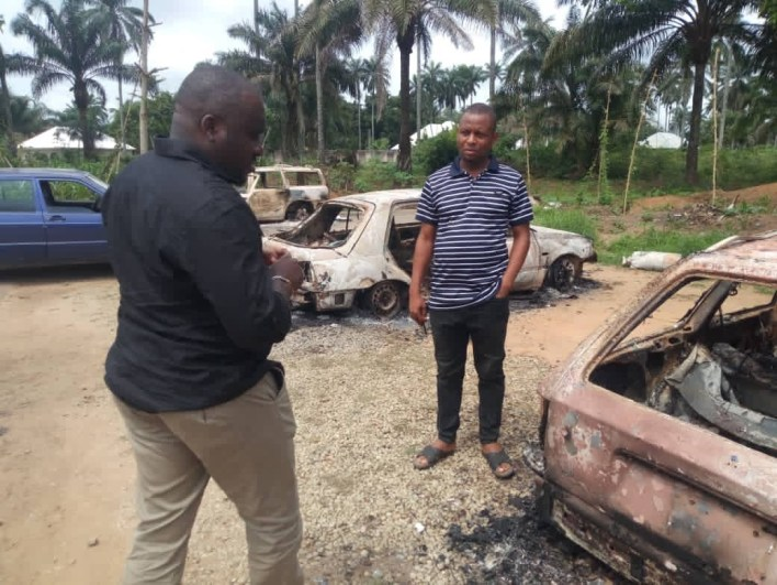 Gunmen kill two police officers, burn five vehicles in Akwa Ibom