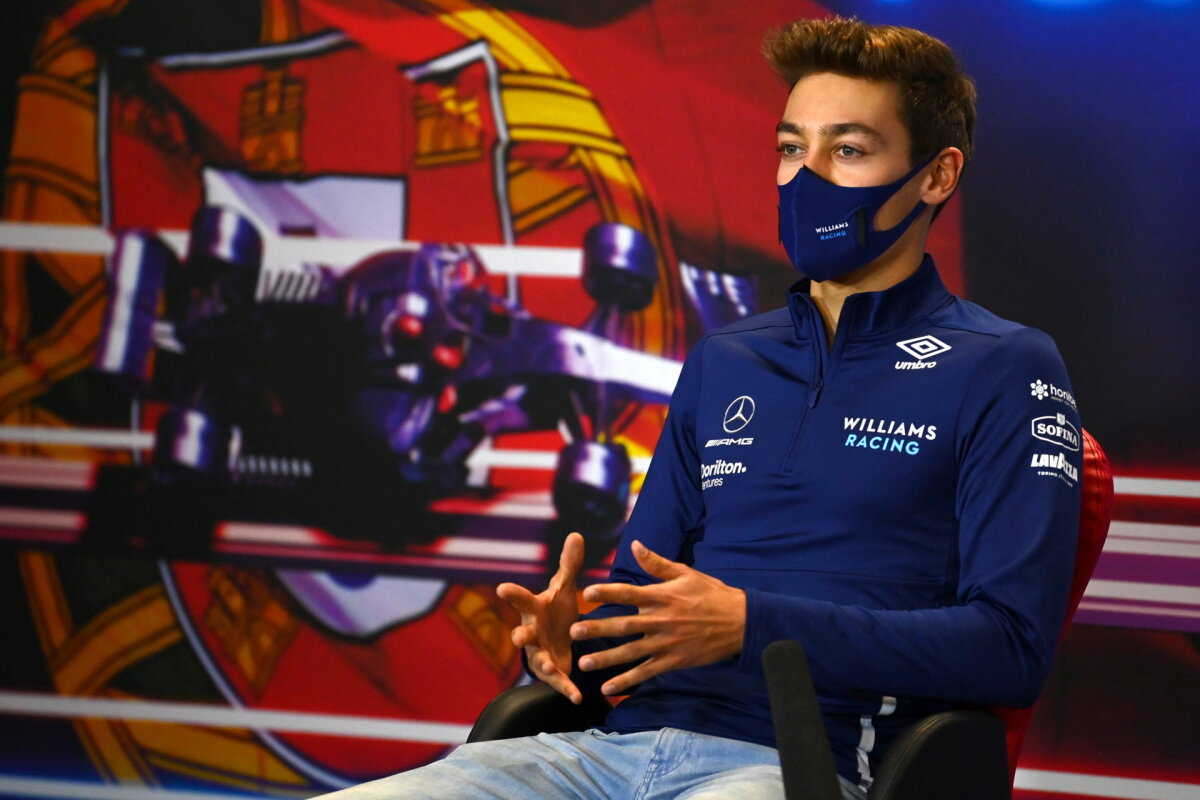 George Russell Explains Why He Has 'No Real Concerns' for His F1 Future Amid Mercedes Talks
