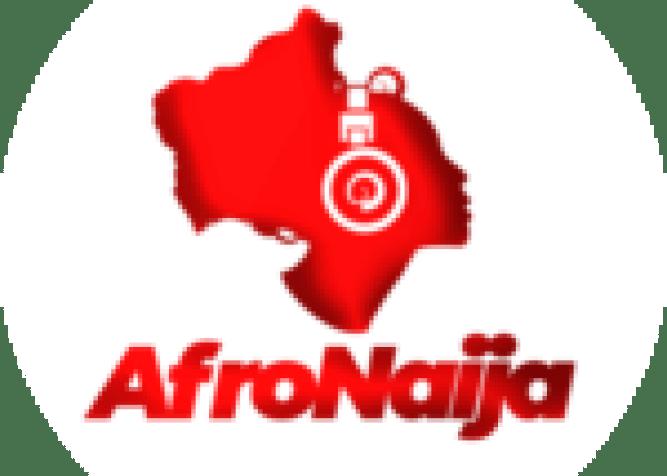 Los Angeles Lakers forward LeBron James (23) celebrates with teammates