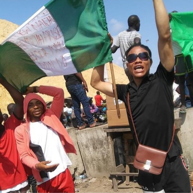 EndSARS protester, Mbah who spent nearly 8 months in Kirikiri prison regains freedom