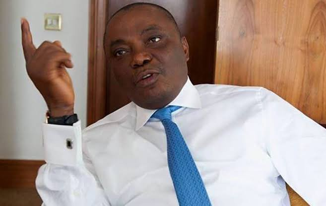 Sen Nwaoboshi reacts to suspension by PDP