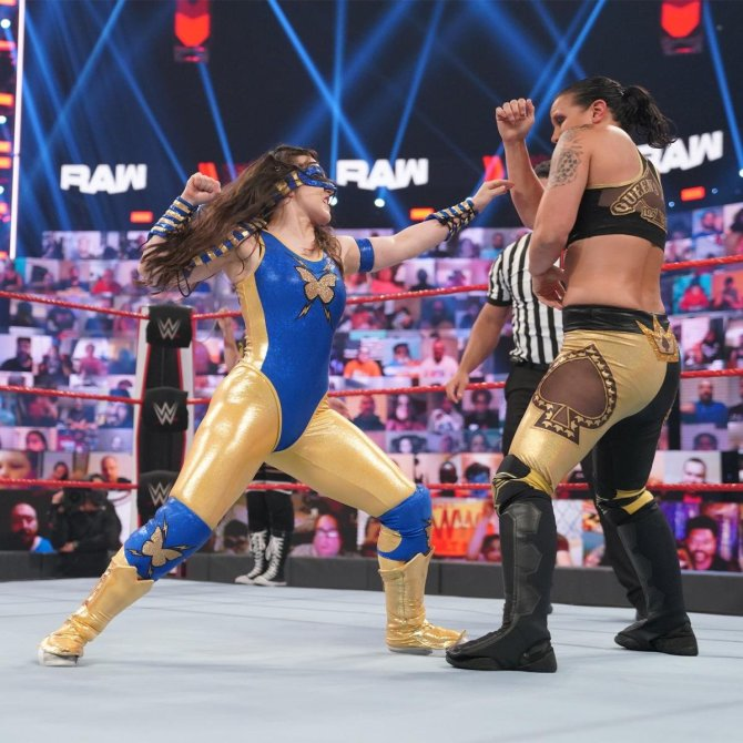 New Superhero in WWE! Nikki Cross Unveils Exciting New Gimmick on Raw