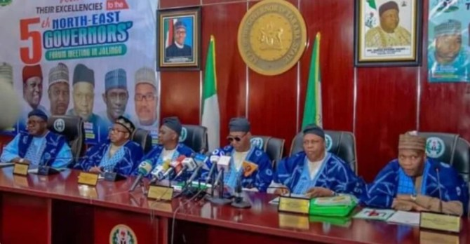North-east governors seek int'l collaboration against insecurity