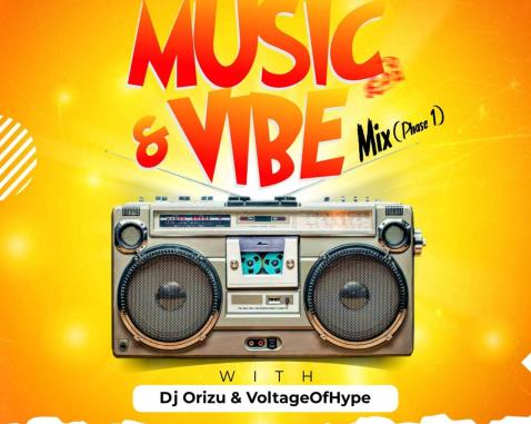 DJ Orizu & Voltage Of Hype & XXX-DRUMS - Music And Vibe Mix [Phase 1]