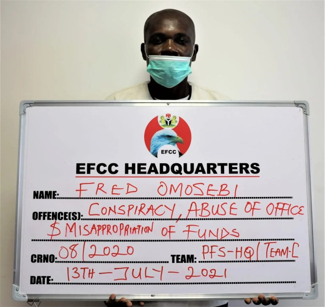EFCC arraigns pastor for diverting church fund, enlisting wife on payroll