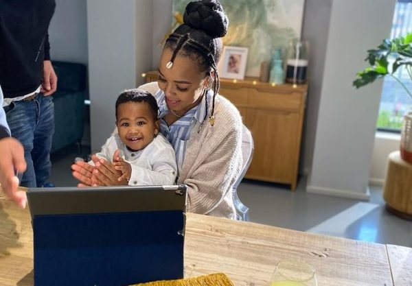 Cici and baby Diallo partner with Pampers (Video)