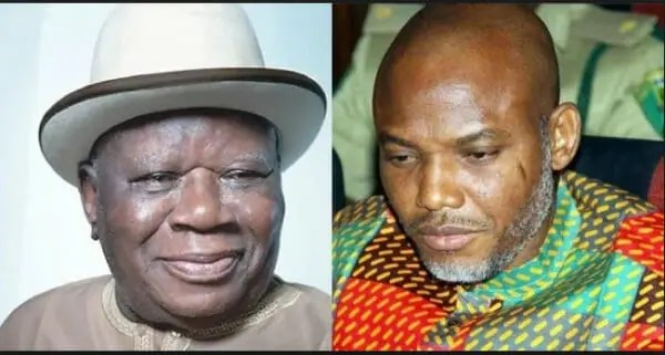 South-South: Edwin Clark Tackles IPOB, Nnamdi Kanu as he speaks on being part of Biafra