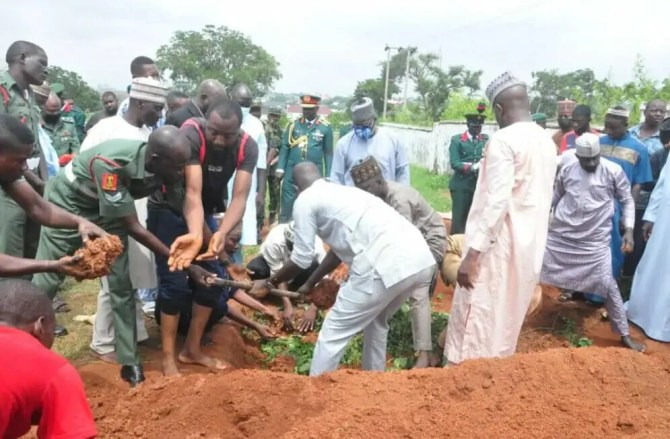 Army General assassinated in Abuja laid to rest