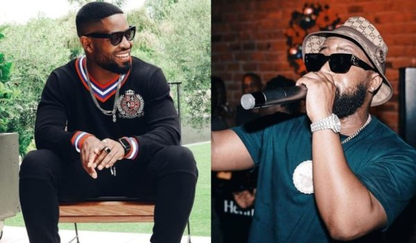 Cassper Nyovest calls off boxing match against Prince Kaybee, says he's delusional