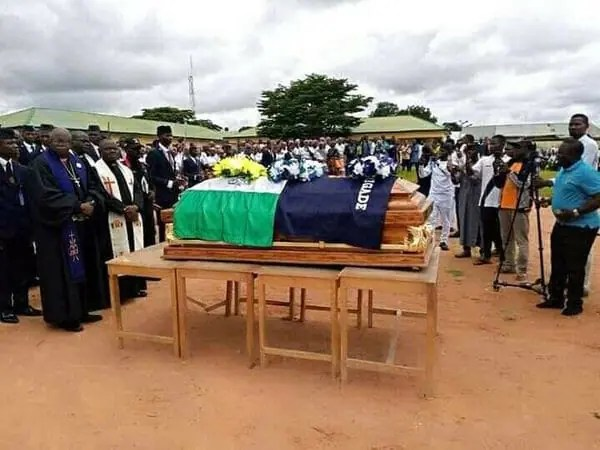 Photos: Pastor assassinated by gunmen laid to rest in Taraba amidst tears