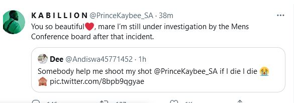 Prince Kaybee shares hilarious reason for turning down lady hitting on him