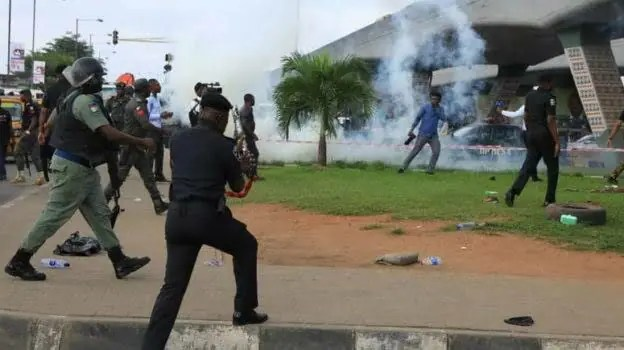 """Nigerian Police officers are not """"spirits"""""""