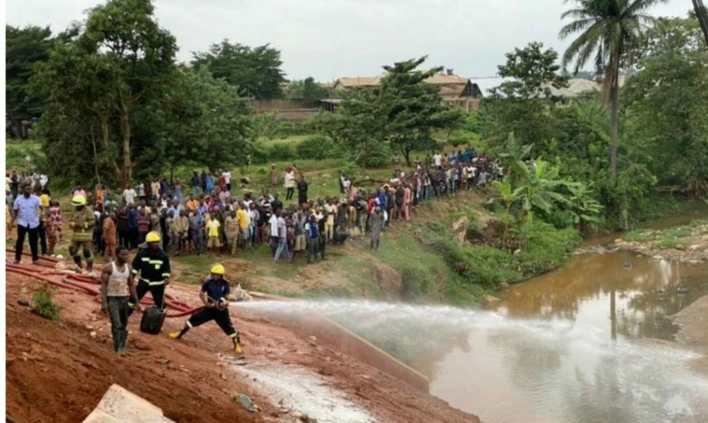 Tragedy As Fully Loaded Truck Kills Several Passengers In Ibadan