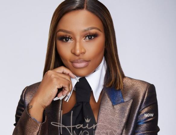 Moves! DJ Zinhle adds 4 styles to her hair collection (Photos)