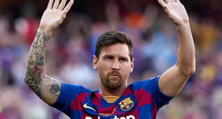 FIFA reacts as Lionel Messi exits Barcelona