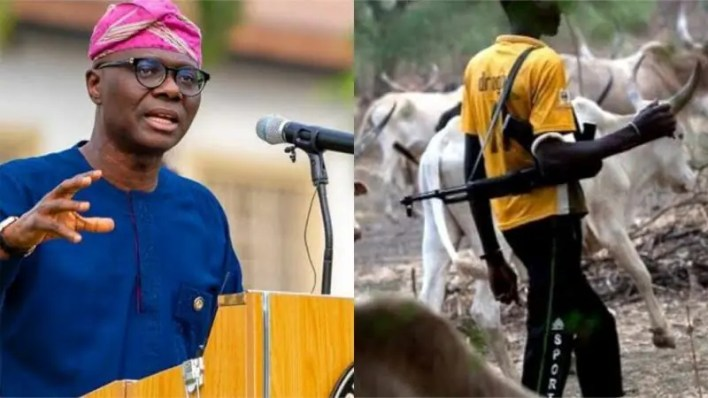 Open Grazing: Lagos proposes 21-year jail for armed herdsmen