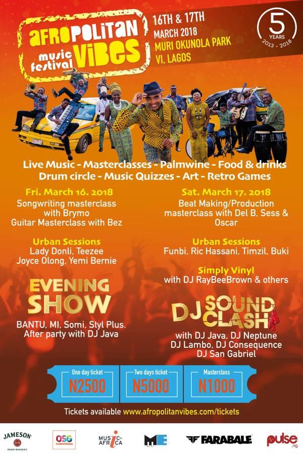 AVMusic Festival Poster 2Line up