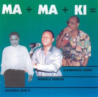 josky kiambukuta & Mayaula Mayoni & Youlou Mabiala - MaMaKi Album Lp - African Music Online