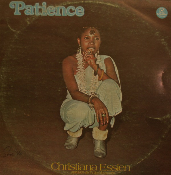 Christy Essien Igbokwe - Patience album lp - afrosunny- african music online