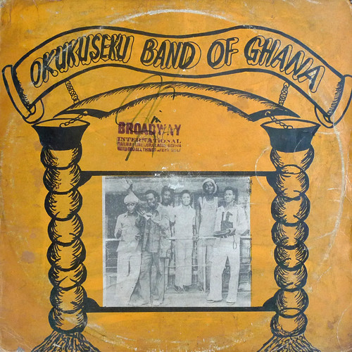 Okukuseku International Band Of Ghana - ST album lp -afrosunny-african music online-ghana