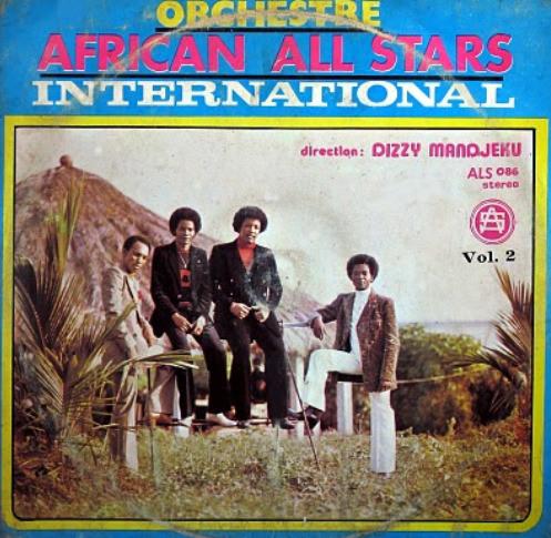 Orchestre African All Stars International By Dizzy Mandjeku - Vol 2 album lp -afrosunny -african music online