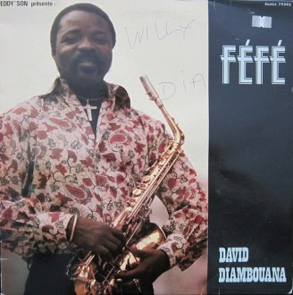 Fefe David Diambouana – Eddy'Son Presente album lp - afrosunny