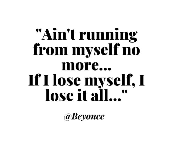 Beyonce running voice meme