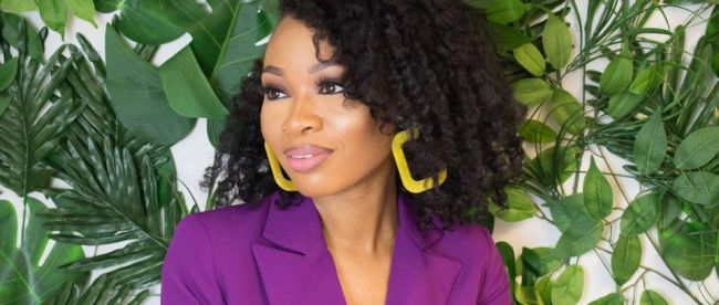 Jamelia natural hair blogger