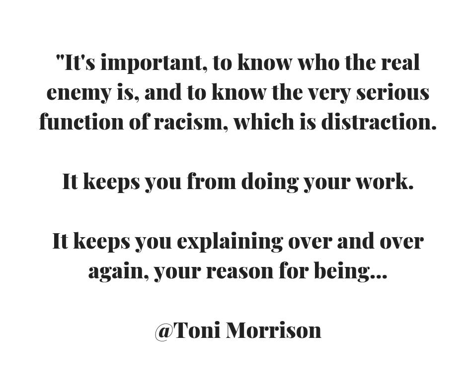 Toni Morrison racism