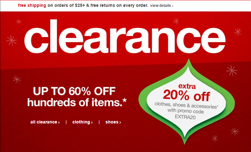 After Christmas Sale At Target Up To 60 OFF Clearance