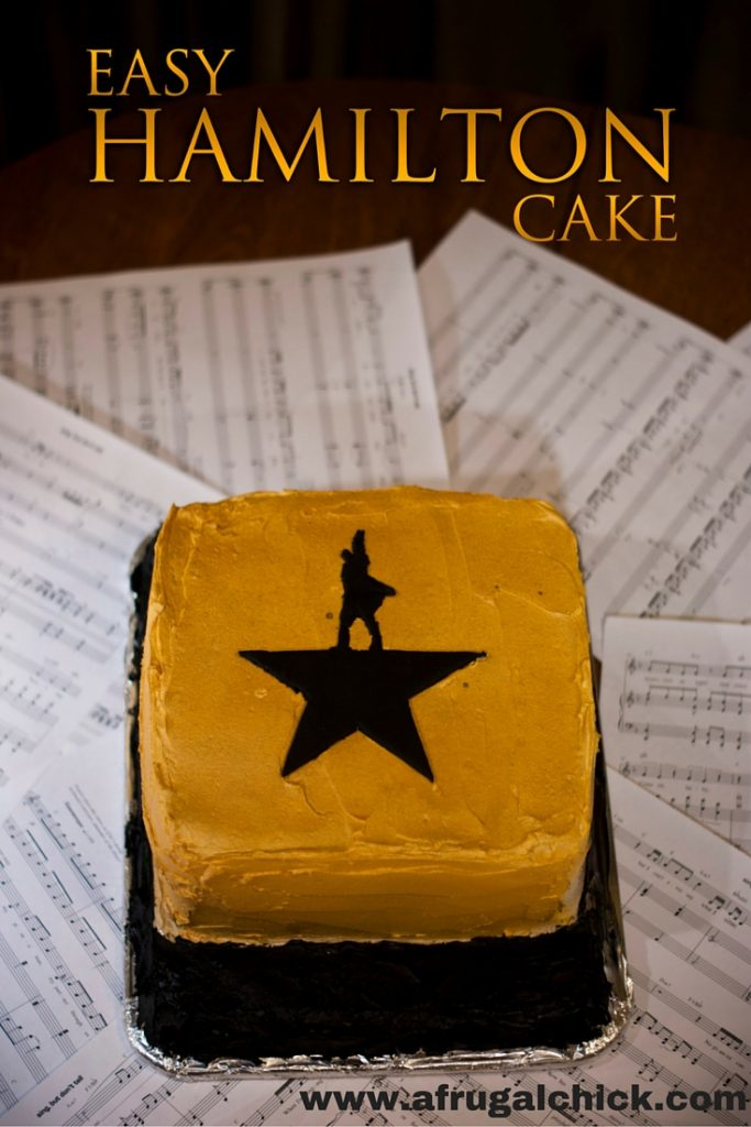 Easy To Make Alexander Hamilton Cake