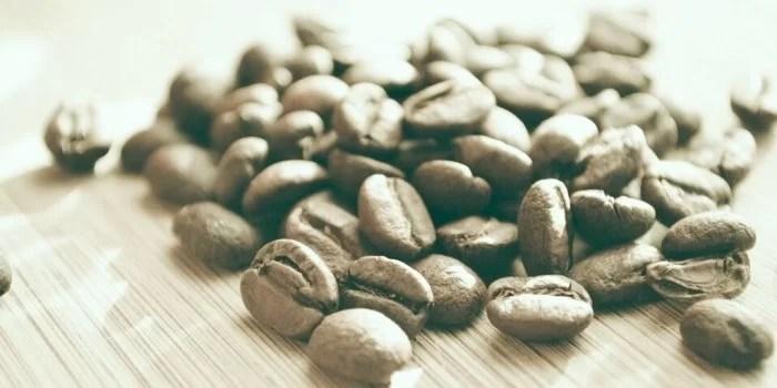 Ongebrande koffiebonen