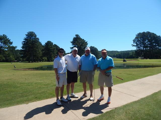 Team AFS on the course